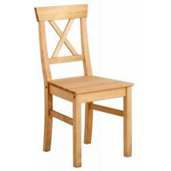 Fenyő Merida 4 db szék, tömör fából magas Német minőségben. AKCIÓBAN. Raktárról azonnal!