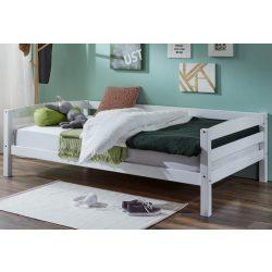 Tömör bükk ágy 90 cm Fehér színben Extra erős. Német minőség kivételes akciós áron! Raktárról azonnal elvihető!