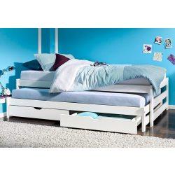 Fehér fenyő ágy,(andorra) vendégágy ágyneműtartó prémium minőség Akciós áron! Raktárról azonnal elvihető!