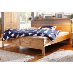 Natúr INDRA fenyő ágy,140/200 cm. Német minőség.Tömör fából, most AKCIÓBAN. Raktárról azonnal elvihető.