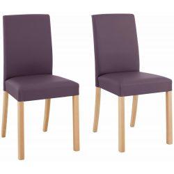 Étkező szék 6db (NINA) padlizsán színben. Német minőség, most AKCIÓBAN! Raktárról azonnal elvihető!