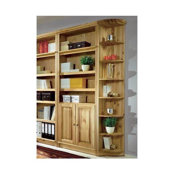 Sarok könyvespolc, (SOEREN) 185/31 cm, prémium minőség, Tömör fából. Most extra AKCIÓBAN!
