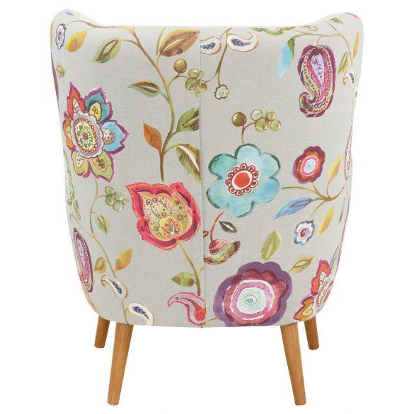 Missuri fotel, virág mintával, kényelmes kárpitozással, most AKCIÓBAN. Majdnem fél áron! Raktárról azonnal elvihető!