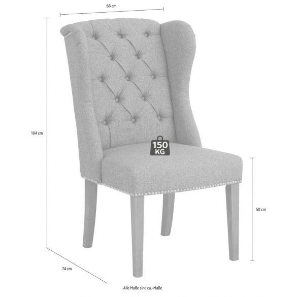 Lia prémium szék. Szürke (1 db) Magas minőség, most AKCIÓBAN. majdnem fél áron! Raktárról azonnal elvihető!