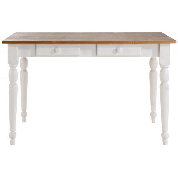 Noah fenyő, fiókos étkező asztal,  120/80 cm . Német minőség, tömör fából, most AKCIÓBAN. Raktárról azonnal elvihető!