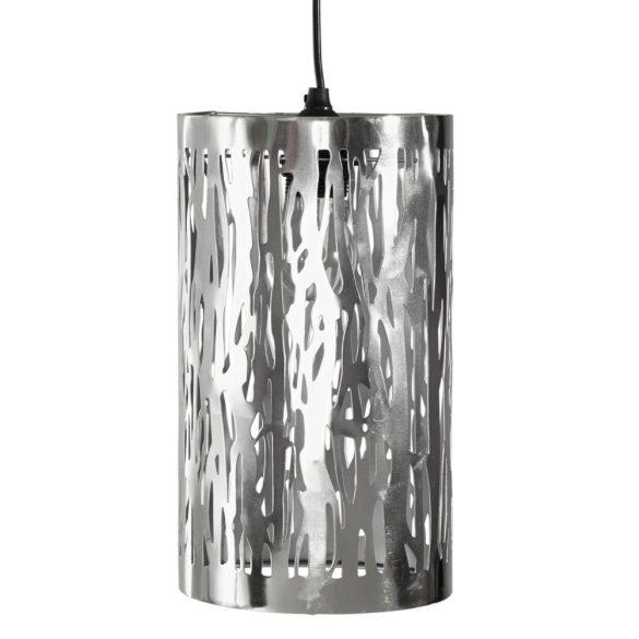 függő lámpa ezüst színű hosszúkás modern divatos 30/17,5 cm INGYENES HÁZHOZ SZÁLLÍTÁS! Magas Német minőség