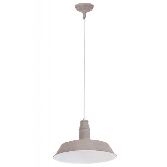 Szürke függő lámpa acél szerkezet vintage megjelenés INGYENES HÁZHOZ SZÁLLÍTÁS!