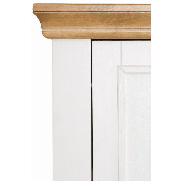 Fehér 4 ajtós cipős szekrény. (SKANDI)  INGYENES SZÁLLÍTÁSSAL. Magas Német minőség Borovi fenyőből.