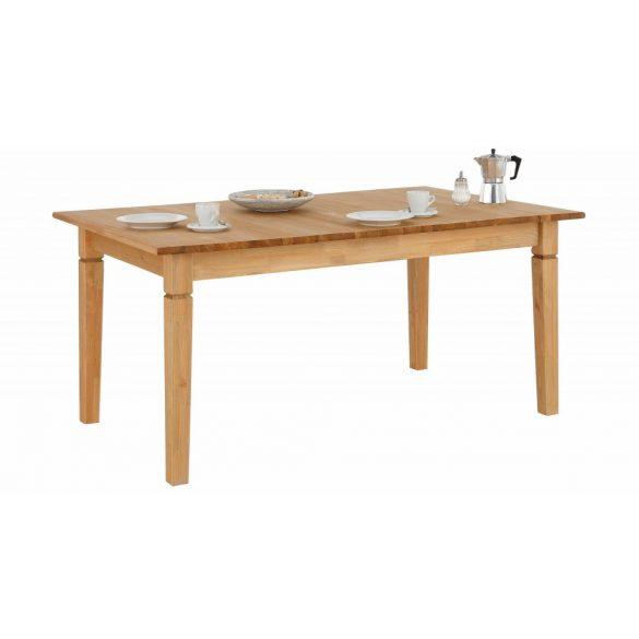Madrid, natúr, 160-199/80-as asztal, bővíthető, tömör fából faragott lábakkal. Magas német minőség. Most akcióban.Azonnal elvihető!