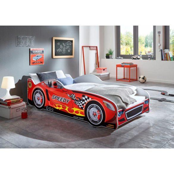 Relita Autós gyerekágy, ágyráccsal, matraccal. Magas minőség, most AKCIÓBAN! Raktárról azonnal elvihető!