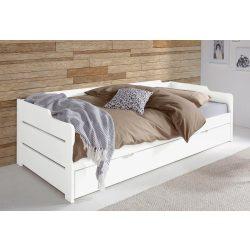 Fehér fenyő kihúzós ágy. Magas Német minőség most ACIÓS áron. Raktárról azonnal elvihető