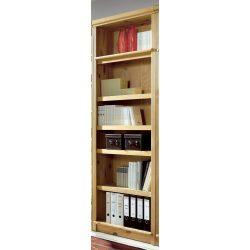 Könyves polc natúr színben.Magas minőségű termék magas minőségű anyagokból.