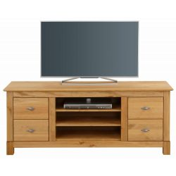 Rauna Tv szekrény, tömör fából, Natúr színben, magas Prémium minőség, most AKCIÓBAN. Raktárról azonnal elvihető.