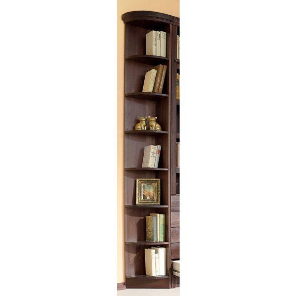 Soeren sarok könyvespolc, 185/31 cm, prémium minőség, Tömör fából. Most extra AKCIÓBAN!