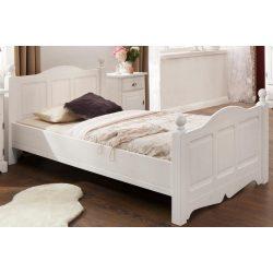 Teo ágy 90/200 cm vastag tömör fából. Prémium minőség, most kivételes AKCIÓBAN. Raktárról azonnal elvihető!